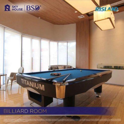 Fasilitas-Billiard-Room-Apartemen-Sky-House-BSD