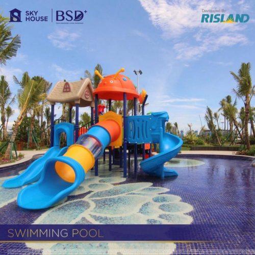 Fasilitas-Swimming-Pool-Apartemen-Sky-House-BSD