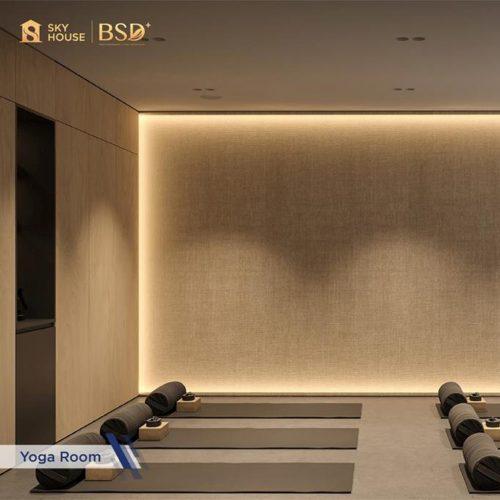 Fasilitas-Yoga-Room-Apartemen-Sky-House-BSD