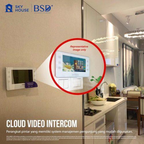 Fitur Apartemen Sky House BSD+ Tangerang (2)