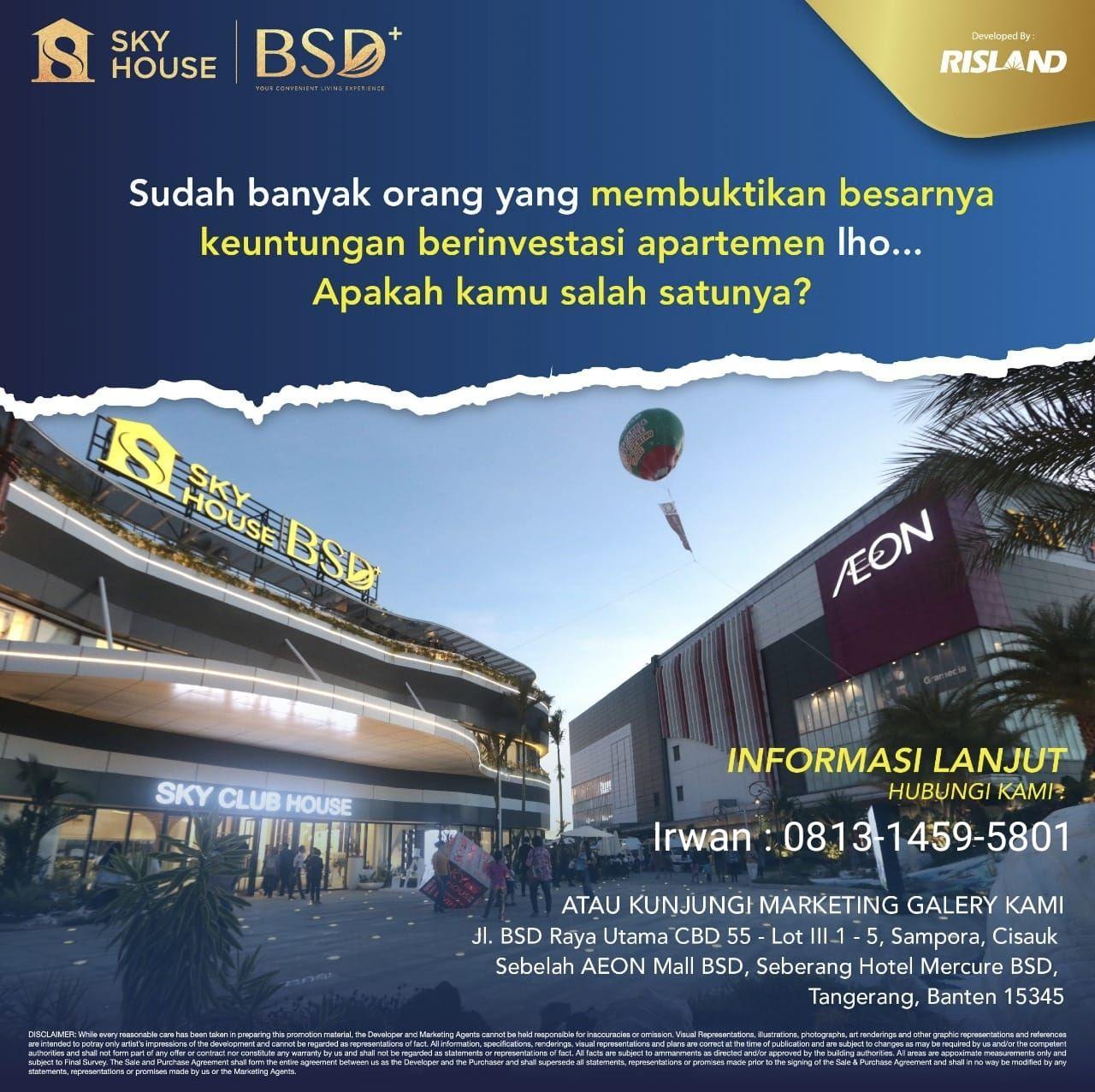 Banner Info Keuntungan Apartemen Skyhouse BSD (1)
